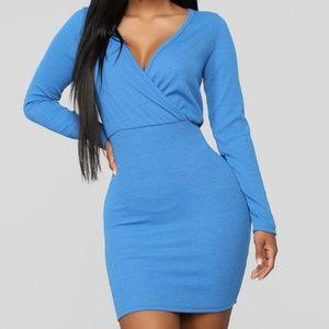 Fashion Nova Daily Duties Long Sleeve Dress